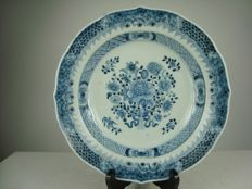 Porcelain charger - China - 18th century