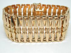 Antique gold bracelet approx. 1930-1940