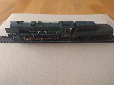 Marklin H0 - 34156 - Steam Locomotive with tender 26 series of the SNCB