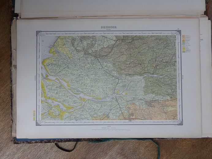 WCH Staring Geological map of The Netherlands scale1200 000