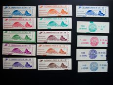 France 1960/2006 - Selection of Stamp Booklets