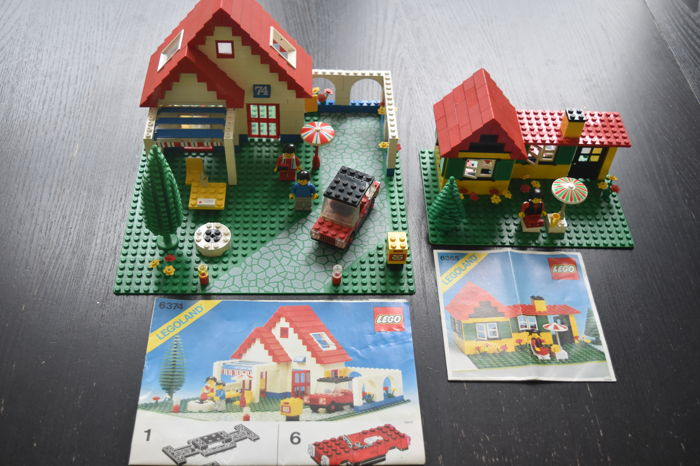 Classic Town - 6374 + 6365 - Holiday Home + Summer Cottage