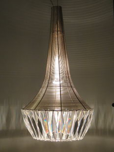 Spiridon lighting - Completely handmade chandelier, Pika