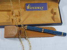 Waterman Lady ballpoint pen with chain