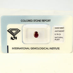 Ruby – 0.76 ct