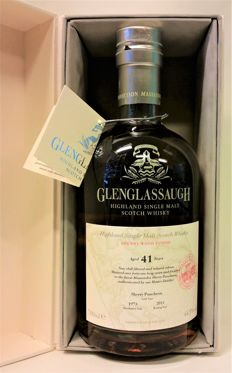 Glenglassauggh 41 Year Old 1973 - The Massandra Connection - Sherry Wood Finish - Bottled in 2014 (was Very Exclusive & Limited Available in 2014)