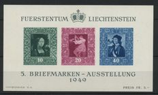Liechtenstein 1940/1990 - collection on cards and in stock book