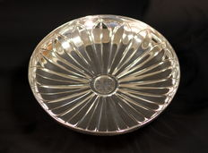 Solid Silver Tazza, Made in London 1906, By Albert Curtis