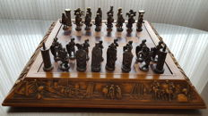Ancient chess - theme: Moors and Christians
