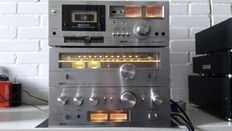 Akai AM 2350 amplifier and AT 2250 Tuner and CS 702D2 from 1978