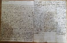 Filippo Pananti - Lot of 35 letters signed by Italian Poet Filippo Pananti (Ronta, 1766-1837) - [late 18th century]