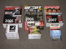 UNCUT Magazine / Complete Years - 2005 - 2006 - 2007 includes original free CD's