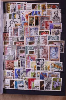 Soviet Union 1955/1985 - Batch of 5160 stamps in stock book