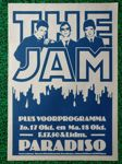 Check out our The Jam - silkscreened poster Paradiso 1978