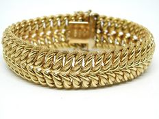 Art Deco gold bracelet approx. 1930-1940