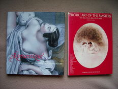 Reference; Lot with 2 editions about Eroticism in Art -1980/2000