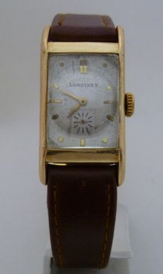 Longines. Gentlemen's wristwatch. Ca. 1947.