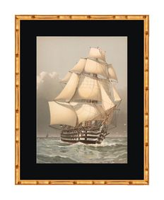 "Six original chromolithographs from the series ""The Royal Navy 1872 - 80"" - after W.F. Mitchell - circa 1880"