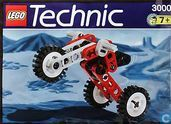 Lego 3000 Trike Buggy (1257-1 Tricycle)