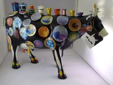 Cow parade The Moo Potter XXL with original box and certificate