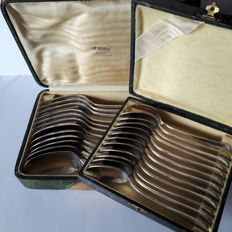 CHRISTOFLE - silver plated cutlery