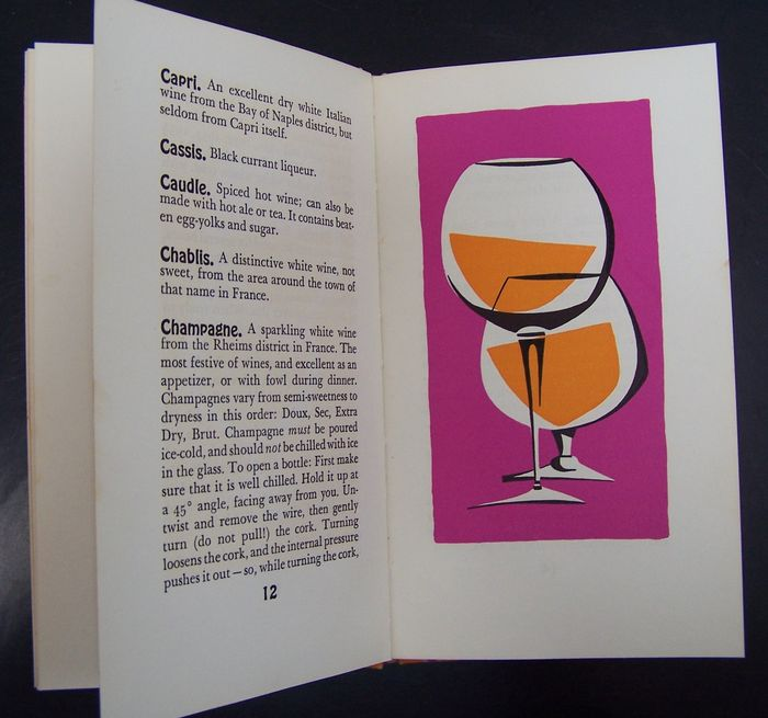 Lot with 7 Books about Cocktails - 1934/1957