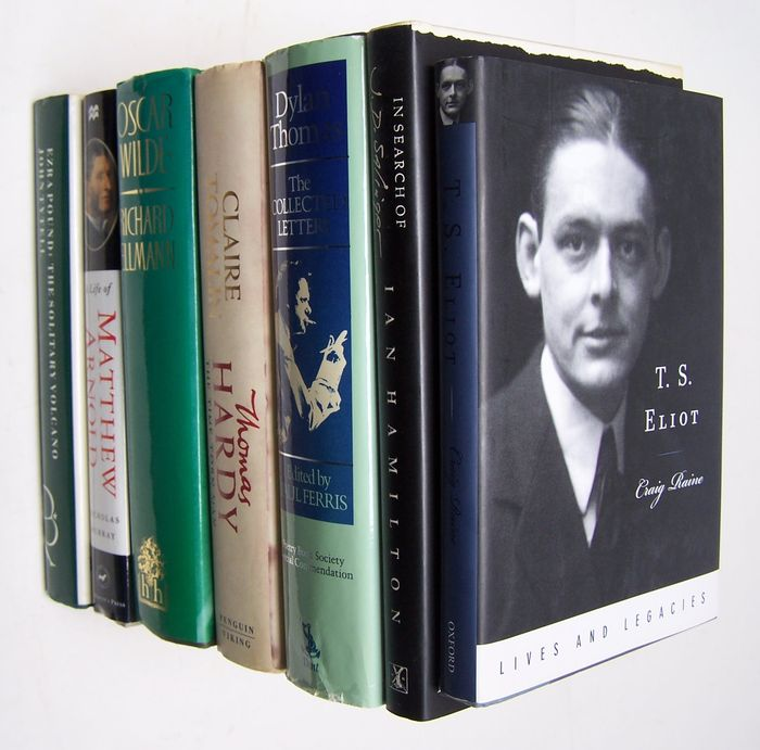 Lot with 7 Literary Biographies - 1985 / 2006