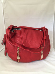 See by Chloé - Cherry Large slouchy leather bag