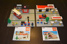 Classic Town - 377 + 379 - Shell Service Station + Bus Station