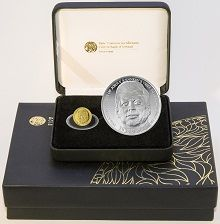"Ireland - Two-coin Proof Set 2013 ""John F. Kennedy"" - Silver & Gold"