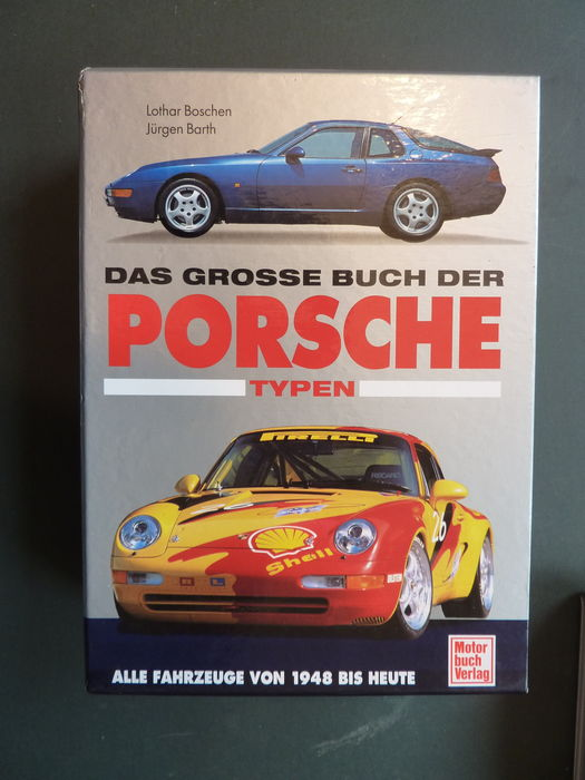 Das Grosse Buch Der Porsche Typen - Two Parts in slipcase - 1994