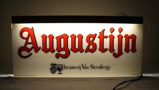 Old illuminated advertising sign for Augustijn - 1986.