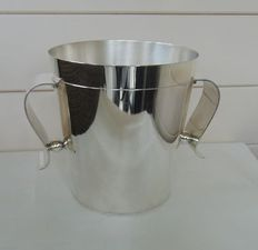 Christofle - Silver-plated Art Deco champagne/ice bucket - Gallia