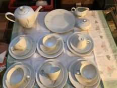 KPM Krister - tea or coffee set 22 pieces