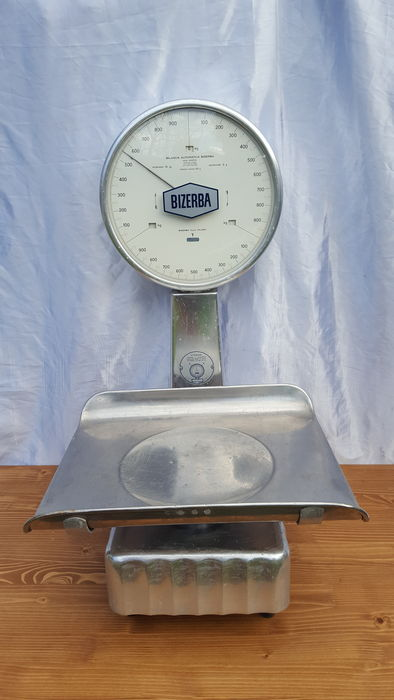 Bizerba scale, precision: 5 grams.