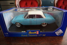 Revell - Scale 1/18 - Ford Taunus 17M light blue