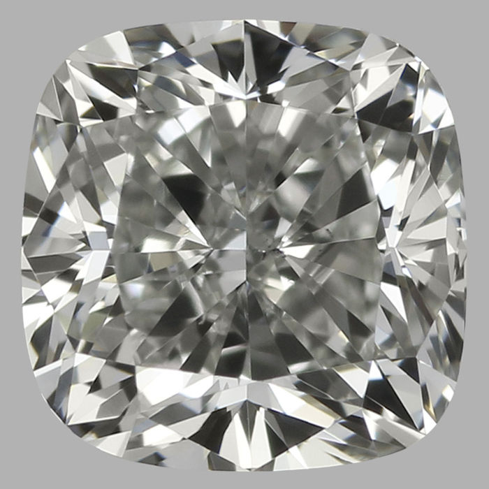 0.50 ct IGI Square Cushion Modified  Brilliant  H VS2  - Serial# 1661-original image-10x