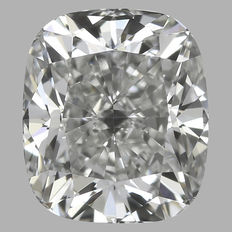 0.51 ct IGI Cushion Modified Brilliant diamond E VS1 -Original Image-10X - Serial# 1594