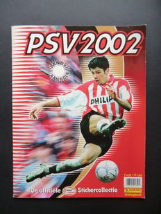Panini - PSV 2002 - Complete album - Including order form.