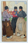 Check out our Henri Cassiers - Drinking Locals of Volendam - 1903