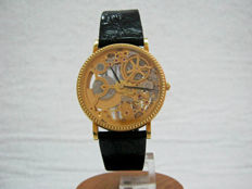 Skeletonized Universal Geneve  – Men's wristwatch – 1994