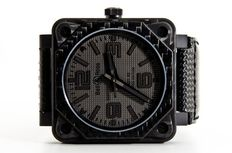 Bell & Ross - Carbon Fibre Phantom - Men's wristwatch