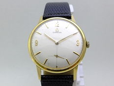 Omega Classic men's watch 14k 1950's