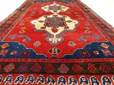"Hamadan – 217 x 135 cm – ""Persian carpet in beautiful condition"" – Note! No reserve price, starts at €1"