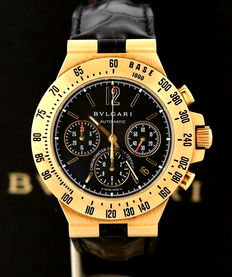 Bulgari – Diagono Professional – Men's chronograph – Like new.