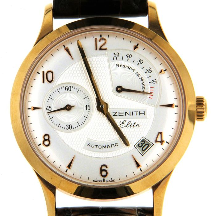 Zenith Elite - Wristwatch - ref 18.1125.685