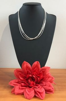 Silver necklace 925k.