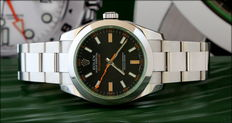 Rolex Milgauss Green 2012, Like New