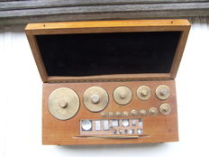 Set Dutch weights - 1920-1940