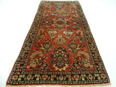 "USA Sarough - 124 x 61 cm - ""Persian carpet in beautiful condition."" - Pay attention! No reserve price: starts at €1,-"